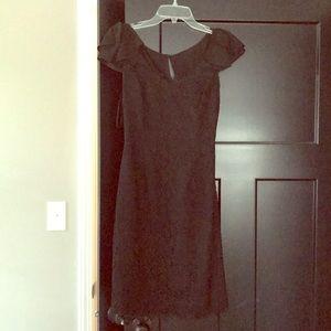 LIKE NEW Black lace dress